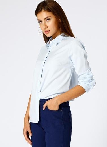 Limon Company Uzun Kollu Gömlek Mavi